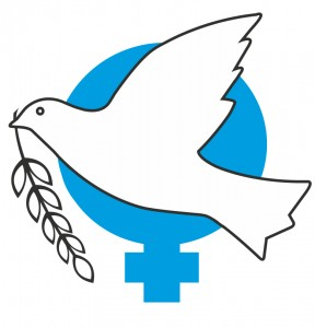 Blue logo bird