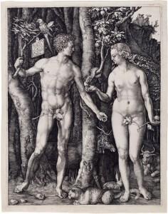 Dürer, Adam og Eva