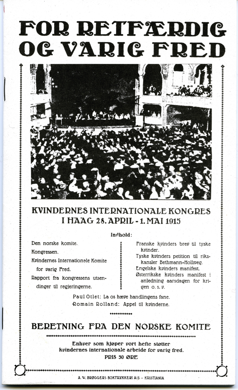 Haag - rapport 1915