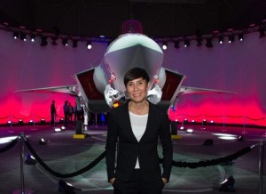 """""""Norwegian Minister of Defence, Her Excellency Ine Eriksen Søreide, with the Norwegian Armed Force's first F-35A Lightning II, known as AM-1, at the Lockheed Martin F-35 production facility in Fort Worth, Texas. The rollout marks an important production milestone for the F-35 program and the future of Norway's national defense."""" (www.f35.com)"""